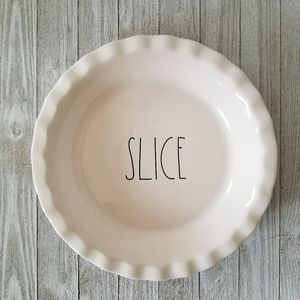 Rae Dunn SLICE Pie Pan Dish